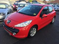 2008/58 PEUGEOT 207 1.4 SPORT 5DR RED,GOOD CONDITION,GREAT CONDITION,LOOKS AND DRIVES WELL
