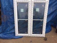UPVC Window 1120mm x 1305mm ref 285