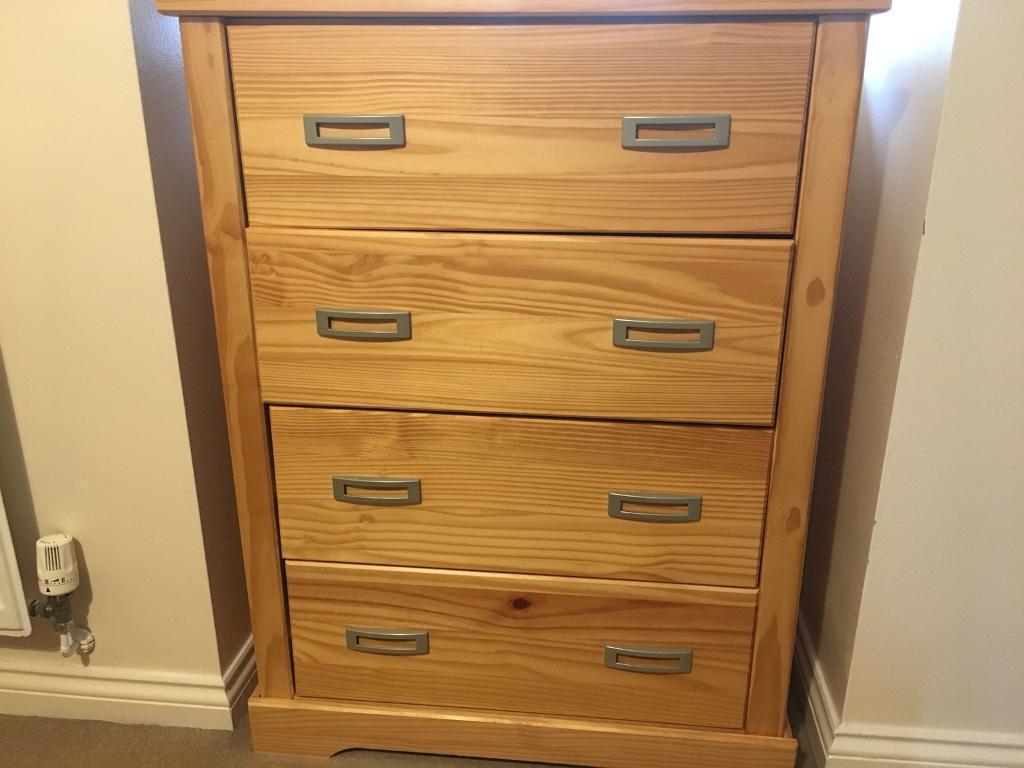 4 drawer Chester drawer