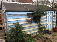 FREE shed/workshop, will help dismantle but no delivery.