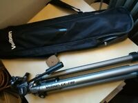Camera Tripod - Velbon Sherpa 600R Tripod, very good condition PH-157Q 3 way pan head