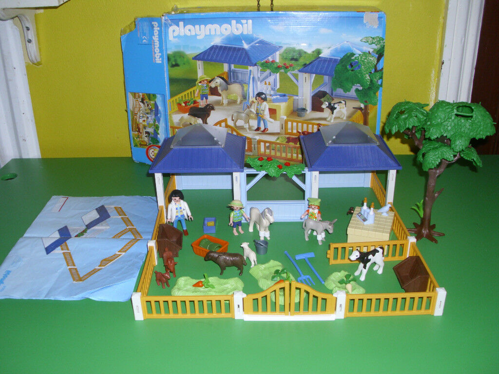 PLAYMOBIL ANIMAL NURSERY(BOXED WITH INSTRUCTIONS)