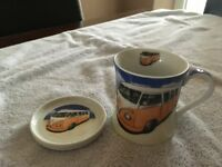 Leonardo collection - VW Camper van mug - Fine China