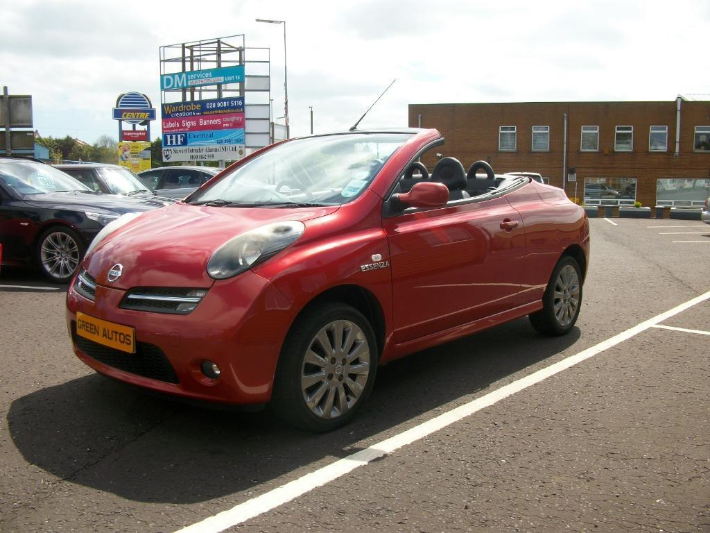 nissan micra c c 1 6 essenza in carryduff belfast gumtree. Black Bedroom Furniture Sets. Home Design Ideas