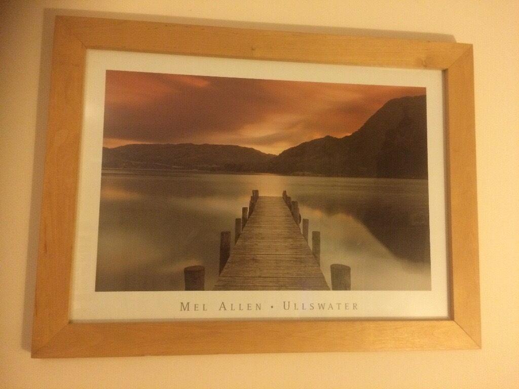 Framed print of Mel Allen • Ullswater Wooden Frame 31\