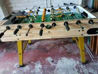Full size football table