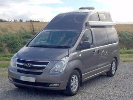 Hylander Hyundai i800 4 berth hi-top campervan with 5 belted seats