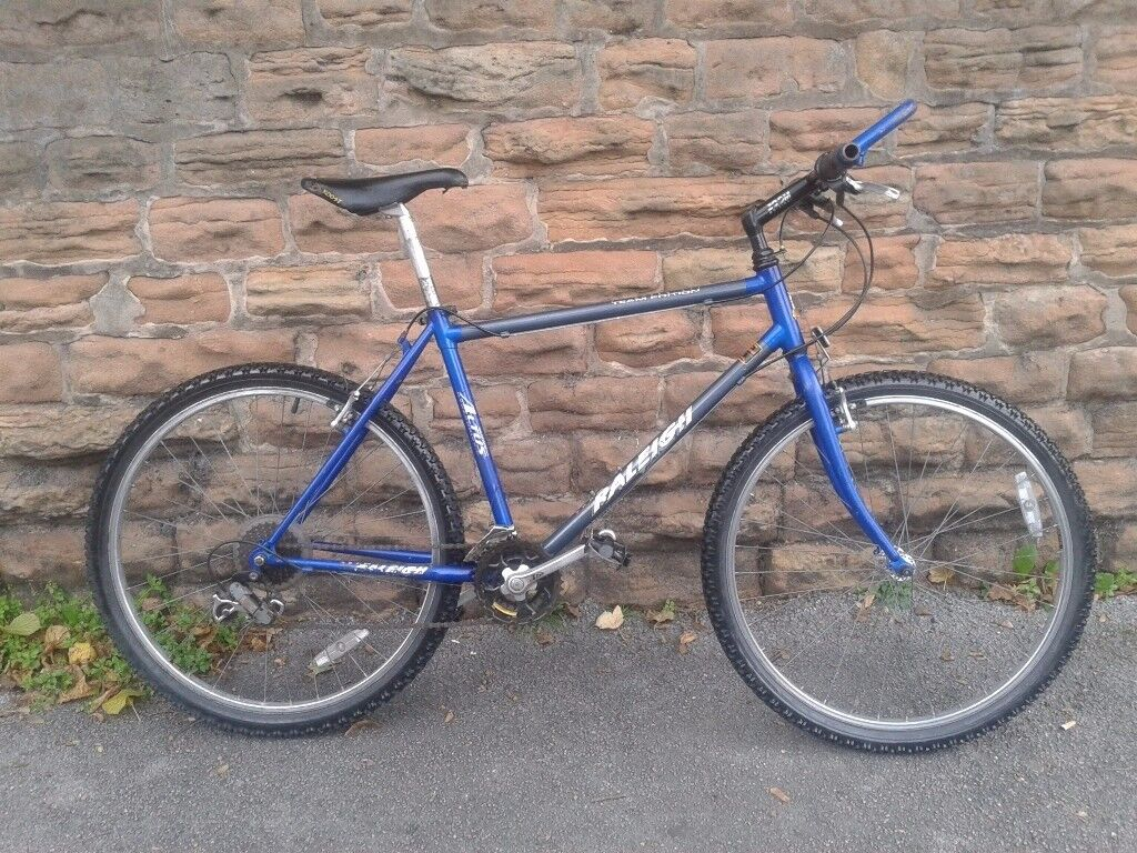 Raleigh Team Edition Nottingham Mountain Bike Retro Cromo Altus Team Roost