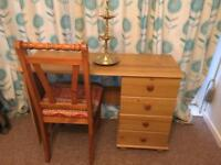 Desk and Chair For Sale..!