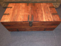 Wooden Chest /Trunk/ Large Storage/ Toy Box/ Coffee Table