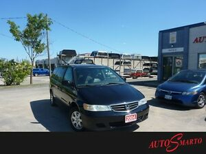 2004 Honda Odyssey EX-L,LEATHER SEATS,EXTRA WINTER TIRES AND RIM