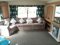 Spacious 3 bedroom caravan for hire