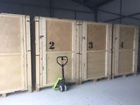 Self store warehouse container