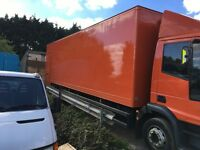 TRUCK BOX BODY FOR RE FIT OR EXCELLENT DRY STORAGE 30 FOOT LONG ALLOY FLOOR