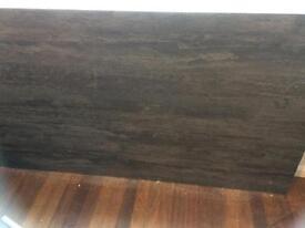 Grey laminate brand new worktop