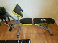 Everlast bench exercise table