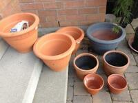 TerraCotta/Clay Pots for sale