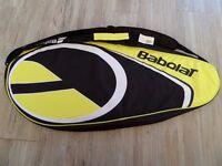Brand new - Babolat 3 racket holder - Yellow