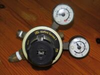 Saffire Series 3 Multi-Stage Regulator from Reserve Gas feed to laboratory - £15