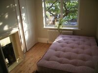 Furnished, light, quiet room, en-suite / own bathroom, West Hampstead, NW6, 10 mins walk to stations