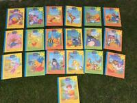 Winnie The Pooh Disney's Out And About With Pooh Set of 19 Books