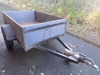 LARGE BUILDERS TRAILER IDEAL TIP RUNS
