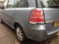 Vouxhuall zafira 1.8 patrol 7seat allowheels 4 brand new tyres new cluch ket with timing belt ket an