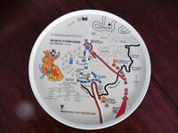 Battle of Bannockburn collectors tray, dating from the 1980s.