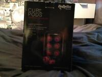 Women's babyliss curl pods never used