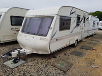 4 Berth BAILEY PAGEANT CD MOSELLE CARAVAN - Modernized and in very nice condition