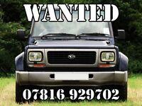 Cars & 4x4's WANTED - CASH WAITING - Somerset / Dorset / Devon