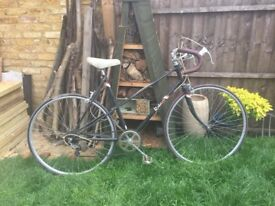 Vintage retro Raleigh women's bike