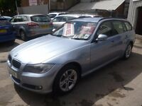 BMW 318D,stunning turbo diesel estate ,1 previous owner,2 keys,full MOT,runs and drives very nicely,