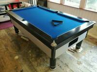 Slate bed pub style pool table 7ft x 4ft