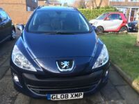 Peugeot 308 SW Estate( Just reduced for quick sale)
