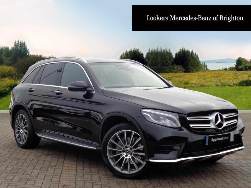 mercedes benz glc class glc 250 d 4matic amg line premium black 2017 12 29 in portslade. Black Bedroom Furniture Sets. Home Design Ideas