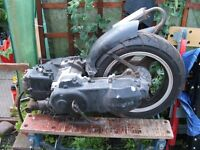 JONWAY MADNESS 50cc ENGINE…. £125 ONO.. Can fit if required.