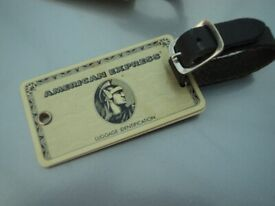 OFFICIAL 'AMERICAN EXPRESS' LUGGAGE TAGS - IN SUITCASES & TRAVEL.