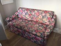 Vintage floral Sofa bed