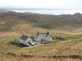 3 Bedroom Detached Cottage in Balchrick, peaceful coastal rural location