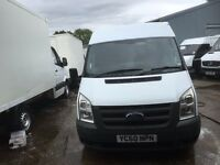 FORD TRANSIT MEDIUM BASE MEDIUM ROOF.60 REG.76K MILES.1 OWNER.SERVICE RECORD