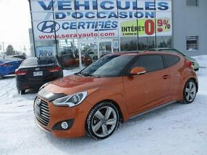 2014 Hyundai Veloster TURBO CUIR 48 835 KM Turbo