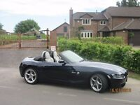 "BMW Z4 2.5 si Sport, New Roof Motor, Refurbished 18"" Alloys, Low Mileage"