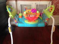Fisher Price First Steps Jumperoo 2 in1