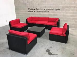 Patio Furniture Wicker Set Outdoor conversation set 6476998240