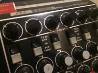 Glensound mx6 broadcast mixer