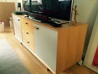 full wood chest of drawers/tv stand