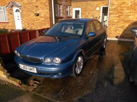 X Type Jaguar, 1 years MOT, drives well, good condition for year
