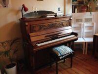 Beautiful Art Nouveau Adolf Lehmann Piano