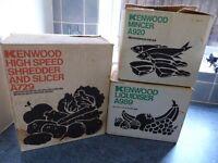 Kenwood Chef A901 Assessories - Liquidiser: Mincer : Shredder Slicer